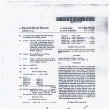 Патент США 2009