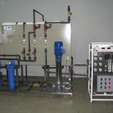 Система получения, хранения и распределения воды очищенной