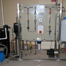 Obtaining purified water system