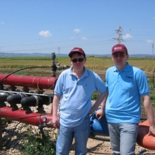Водоподготовка тепличных хозяйств, полива овощных культур на полях.