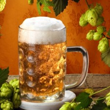 Water treatment for beer production