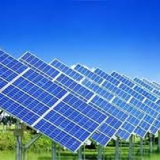 Preparation of demineralized water for the production of solar cells