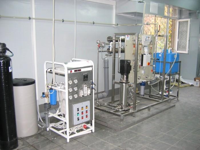 Система получения,  хранения и распределения воды очищенной, Q=240л/час