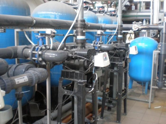 Очистка воды для питания паровых котлов, Q=32 м3/час