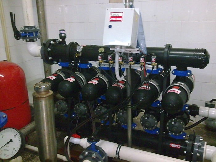 Desalination System of for juice production TM «JAFFA», I = 135 m3/hr