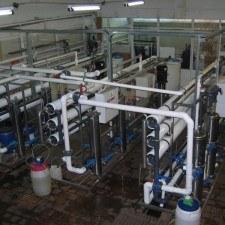 Система получения  обессоленной воды для производства солнечных батарей, Q=45 м3/час