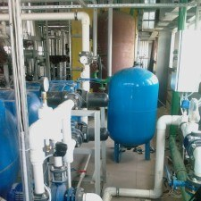 Водоподготовка для питания паровых котлов, Q=32 м3/час
