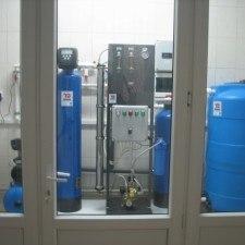 Система получения,  хранения и распределения воды очищенной, Q=60л/час