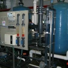 Система водоочистки для питания паровых котлов,  Q=52 м3/час