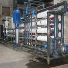 Система получения обессоленной воды для полива овощных культур, Q=40м3/час
