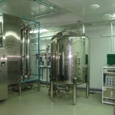 Система получения,  хранения и распределения воды очищенной, Q=3,5 м3/час
