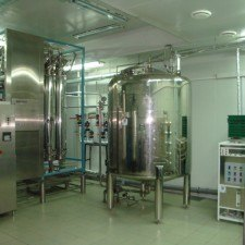 System production, storage and distribution of purified water, Q = 3,5 m3 / h