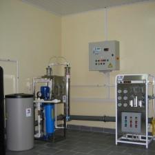 Система получения, хранения и распределения воды очищенной, Q=0,5 м3/час