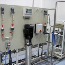 Система получения,  хранения и распределения воды очищенной, Q= 3 м3 / час